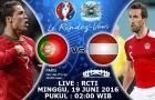 Bồ Đào Nha 0-0 Áo (Vòng bảng Euro 2016)