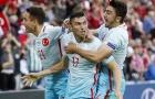 CH Séc 0-2 Thổ Nhĩ Kì
