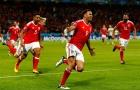 Ngược dòng ngoạn mục trước Bỉ, xứ Wales xuất sắc vào bán kết