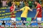 Ảnh chế: Vượt Neymar, LUÂN là siêu sao số 1 Brazil; Fan Cáo hốt hoảng trốn sau trận mở màn NHA