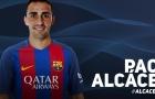 Chính thức: Barca đón thêm tiền đạo