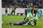 Chùm ảnh: Không Messi, Pique sắm vai người hùng của Barcelona