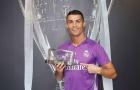 Cầu thủ xuất sắc nhất 2016: Ronaldo số 1, Messi thứ 4
