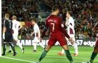 Ronaldo suýt lập hat-trick, Bồ Đào Nha vùi dập Latvia trên sân nhà
