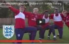 U21 Anh tập đối kháng và 5 đấu 5