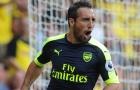 Arsenal đau đầu vì Santi Cazorla
