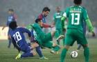 Pha ngã ăn vạ thô thiển của cầu thủ Trung Quốc