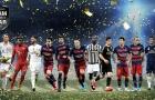 UEFA công bố danh sách rút gọn Đội hình tiêu biểu 2016