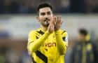 Ilkay Gundogan thể hiện ra sao trong màu áo Dortmund?