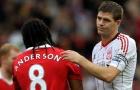 Anderson 'đá đểu' Gerrard: 'Tôi 4 lần vô địch NHA cùng M.U'