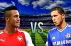 Eden Hazard vs Alexis Sanchez: Ai hơn ai?