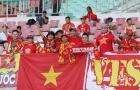 Đội tuyển Việt Nam tri ân người hâm mộ trên sân Wunna Theikdi