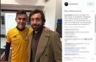Dybala tái ngộ Pirlo trong buổi gặp mặt fan nhí Juventus