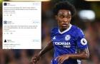 Fan cầu xin Chelsea đổi Willian lấy Martial