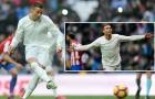 Ronaldo tỏa sáng dưới cơn mưa trên sân Bernabeu