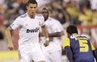 Trận ra mắt  Real Madrid của Ronaldo