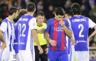 Không giải được 'lời nguyền' Anoeta, Barca bị Real bỏ xa trên bảng xếp hạng