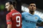 So sánh top 10 bàn thắng đẹp nhất của Aguero và Ibrahimovic