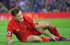 Tại sao Liverpool lo 'sốt vó' với chấn thương của Coutinho
