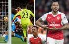 Walcott ghi bàn, Sanchez đưa Wenger trở lại top 4