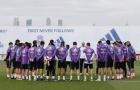 Real Madrid tưởng nhớ Chapecoense ngay trên sân tập