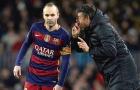 El Classico cận kề: Luis Enrique có dám mạo hiểm với Iniesta?