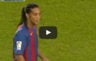 Màn trình diễn kĩ thuật của Ronaldinho vs Real Madrid (2004)