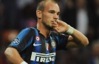 Wesley Sneijder: Bậc thầy đá phạt của Inter Milan