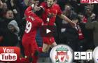 Liverpool 4 - 1 Stoke City (vòng 18 Ngoại hạng Anh)