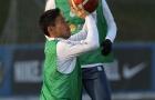 Chán đá bóng, Inter chuyển sang chơi bóng rổ trên sân tập
