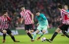 Thi đấu nhạt nhòa, Barca thua sấp mặt trước 9 người của Bilbao
