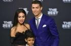 Bạn gái mới tháp tùng Ronaldo trong lễ trao giải FIFA