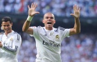 Pepe chơi cực hay trong màu áo Real Madrid