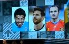 Suarez bị FIFA 'dìm hàng' trong lễ trao giải