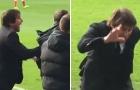 Vì sao Conte túm áo, suýt đánh trợ lý?