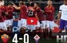 AS Roma 4 - 0 Fiorentina (vòng 23 Serie A)