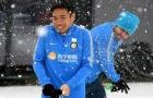 Bỏ tập, dàn sao Inter đại chiến trong ngày đầy tuyết