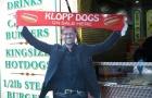 Klopp chuyển nghề bán thức ăn nhanh ngay trước Anfield