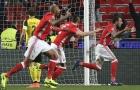 Aubameyang sút hỏng phạt đền, Dortmund sẩy chân đáng tiếc trước Benfica