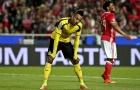 Chùm ảnh: Aubameyang hóa tội đồ, Dortmund mất lợi thế trước Benfica