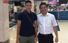 Cầu thủ HAGL được chào đón tại Hàn Quốc