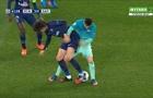 Tình huống Messi bị Rabiot xỏ háng