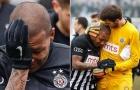 Cầu thủ bật khóc rời sân do bị miệt thị là con vật