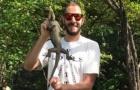 Karim Benzema bị phạt vì chụp ảnh cùng động vật quý hiếm