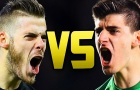 Đọ tài David de Gea vs Thibaut Courtois