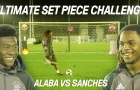 Renato Sanches vs Alaba đọ tài sút phạt