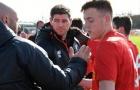 Gerrard giúp sức, U18 Liverpool vào vòng Play-off giải trẻ NHA