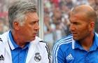 Zidane háo hức tái ngộ Ancelotti