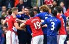 Màn xô xát giữa cầu thủ Man Utd vs Middlesbrough