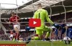 Những pha cứu thua cực đẹp của David de Gea vs Middlesbrough